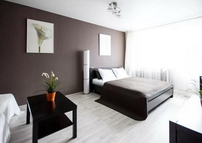 Farge Interior : Brun farge i interi?ret build daily