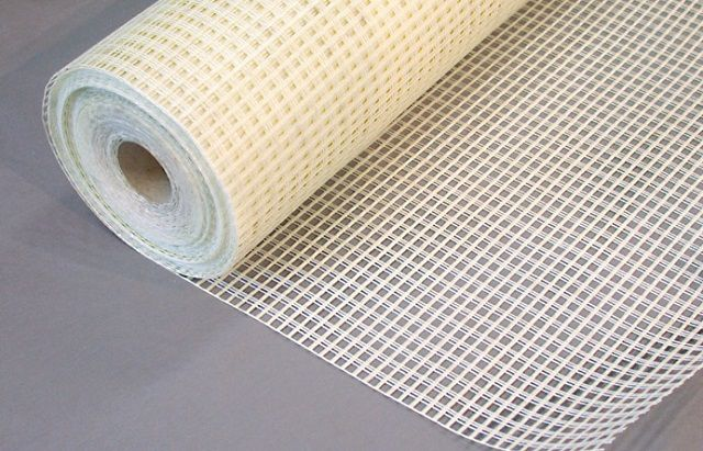 Fiberglass mesh with their performance characteristics far superior to plastic