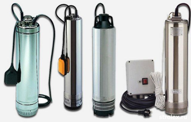 The most common category of submersible pumps - centrifugal action