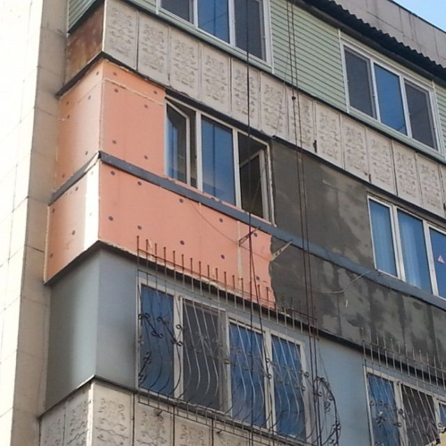Material easy .It does not weigh down the walls , so it is often used steel for the outer insulation in apartment buildings