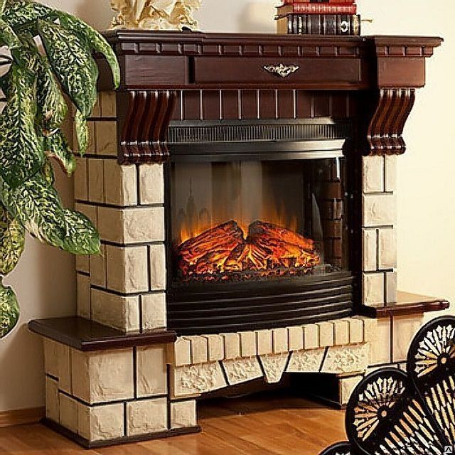 Portal decorative fireplace