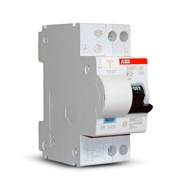 Differential machine combines the functions of the RCD and circuit breaker