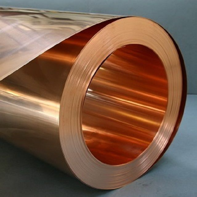 Copper sheet for the manufacture of roof coverings