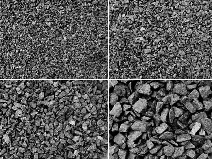 Crushed aggregate for concrete