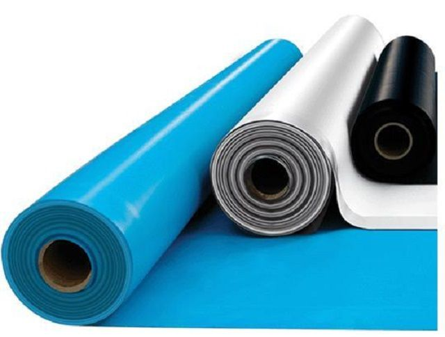 Different types of roofing membranes