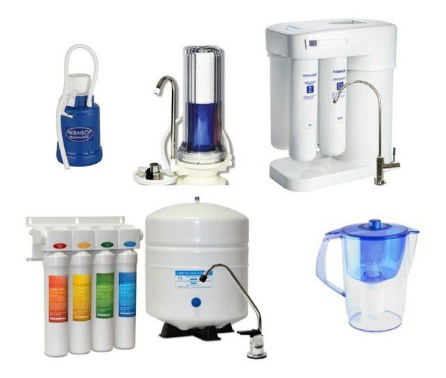 How to choose a water filter