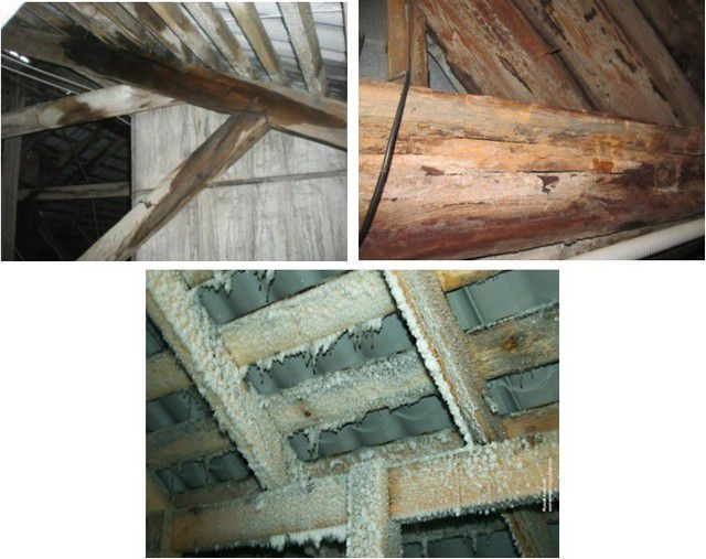 Lack of insulation can significantly shorten the life of the entire roof structure