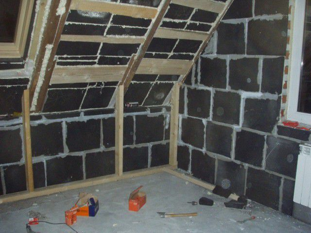You can apply it and indoors , for example , for thermal insulation of the attic