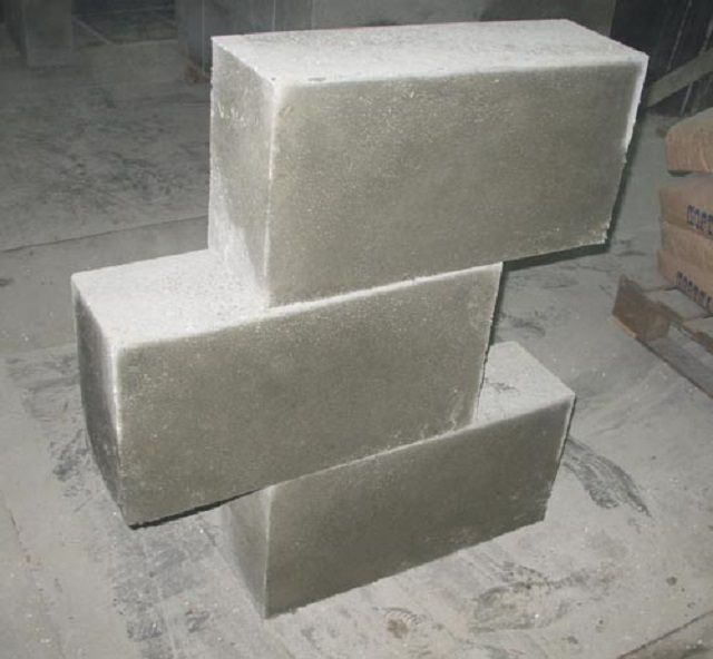 Foam concrete blocks are suitable for construction, and for additional insulation of walls
