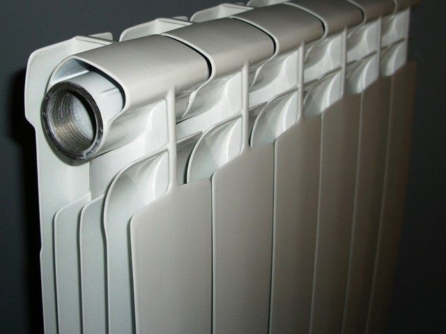Quality cast aluminum radiators - much higher