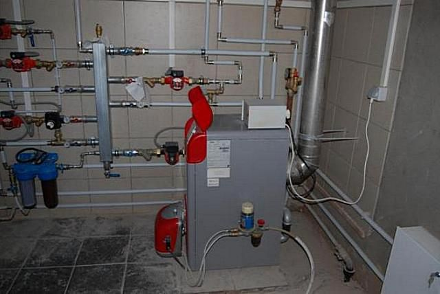 Installation of gas boiler in a private house requirements