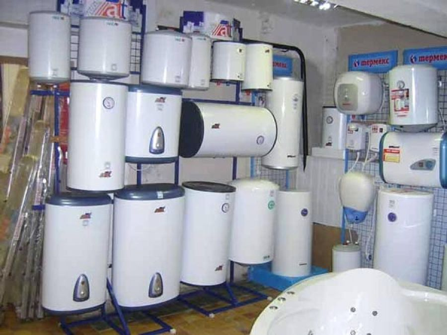 Models of water heaters