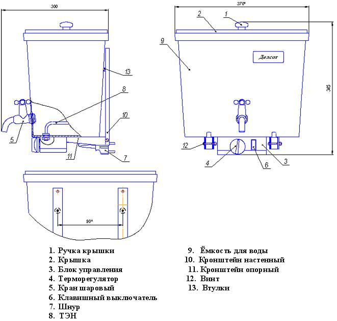 Design and installation of the inlet electrical heater