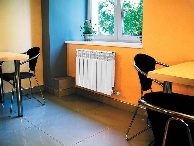Bimetallic radiators is very well fit into the modern interiors of residential premises