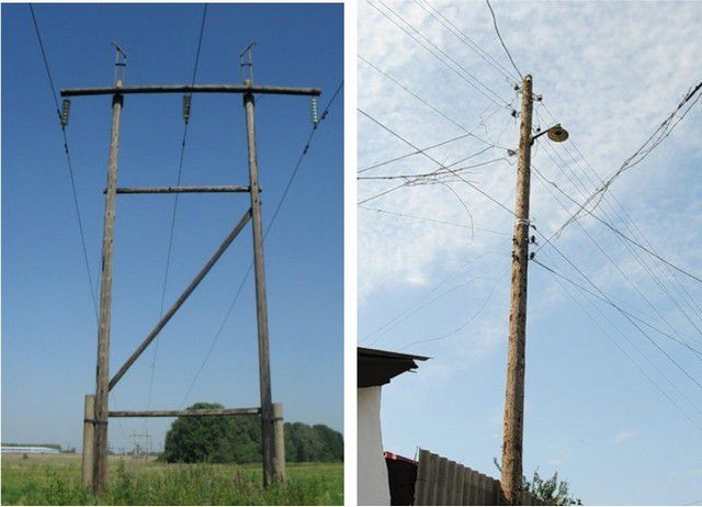 Old, not designed for modern load backbone and local transmission lines - the main cause voltage instability