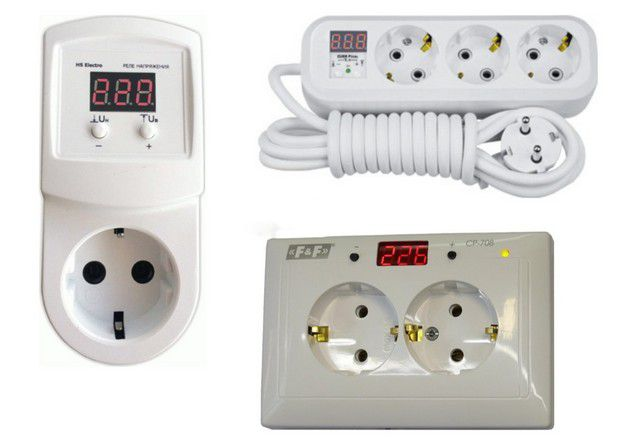 Various embodiments of the voltage monitoring relays