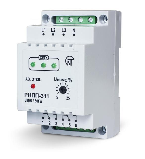 One of the models of three-phase voltage monitoring relay