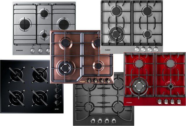 Gas cooktop burners 4 how to choose