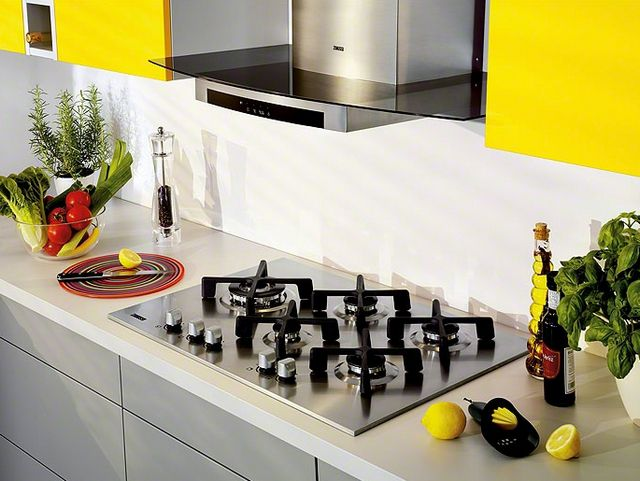 Cooking gas panels fit perfectly into any style kitchen interior
