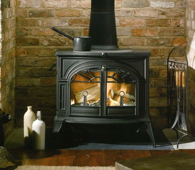 Metal stoves and fireplaces are in need of special care