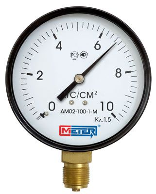 The pressure gauge DM 02 Meter