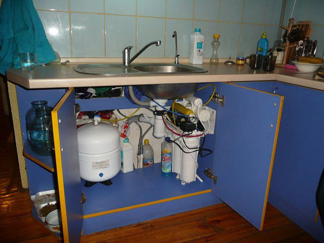 How to choose a water filter under the sink