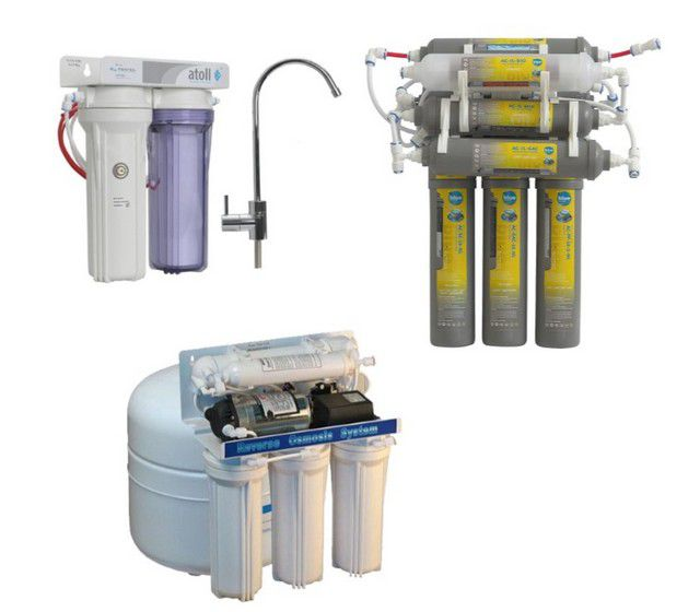 Construction of filtering stations can vary greatly and the number of modules , and the presence of the built-in pump , requiring connection to the power supply