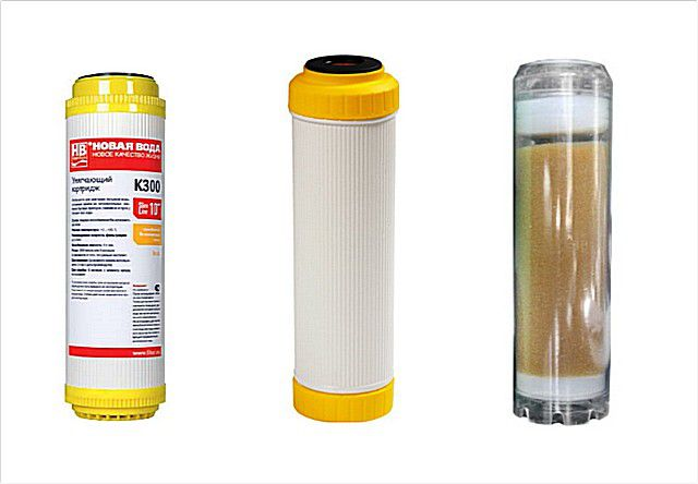 Cartridges - water softeners