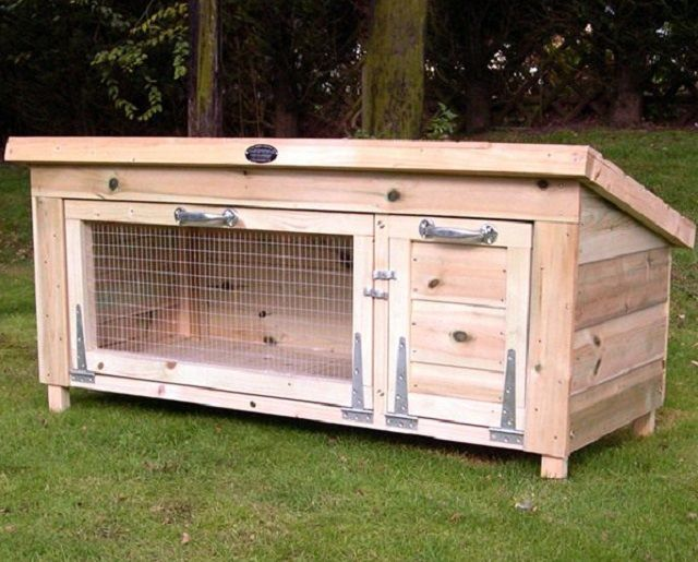 How to build a cage for rabbits