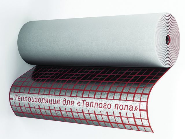 The most simple , but not always the right solution - use a rolled foil insulation based on polyethylene foam