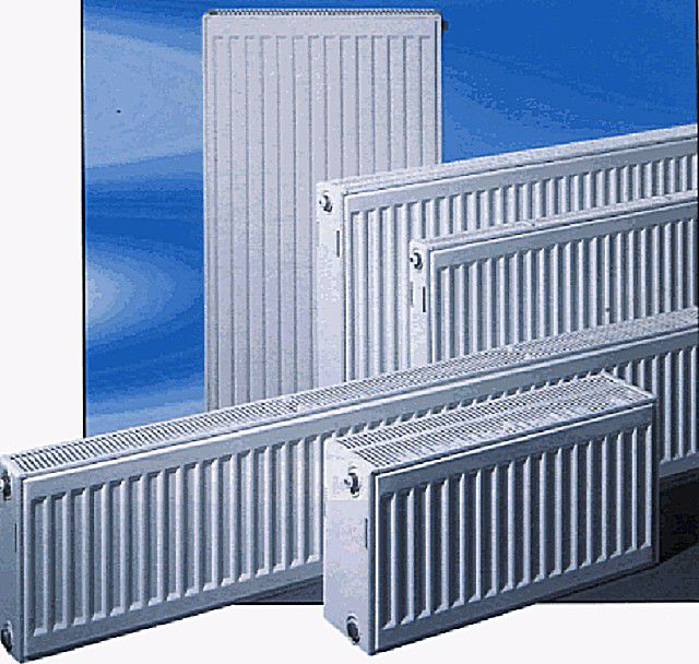 Panel radiators can vary significantly dimensions