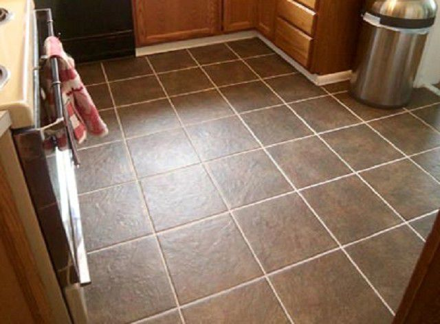 Ceramic tile has been and remains the leader in popularity among other flooring in the kitchen