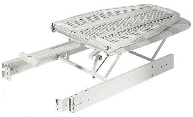 The design of the folding retractable ironing board