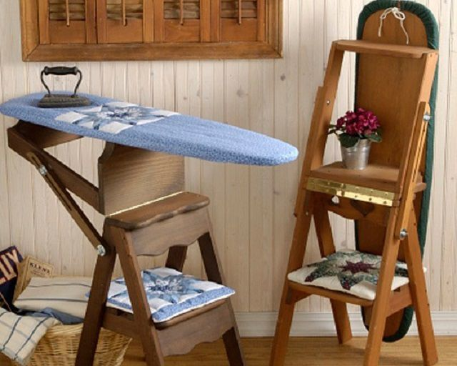 Original multifunctional design of the ironing board