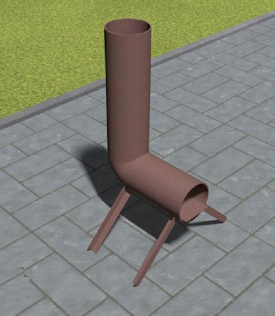 The simplest design of a missile furnace