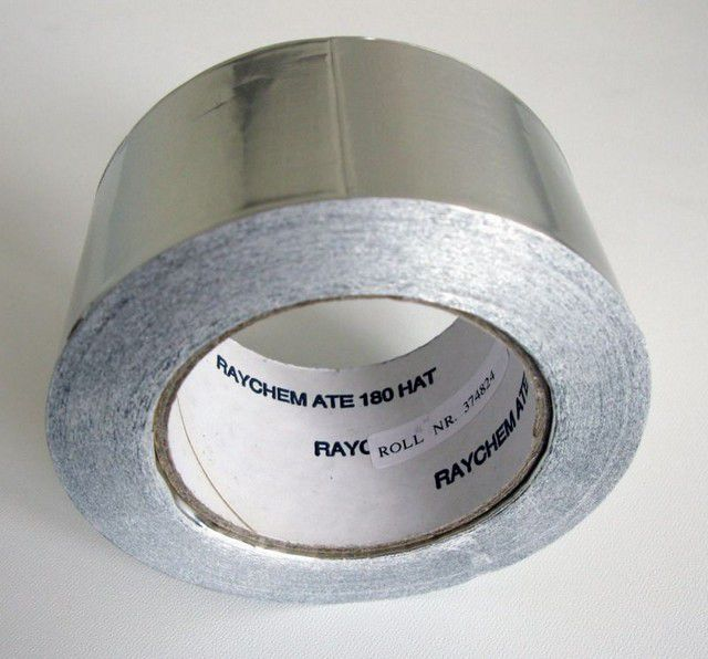 Aluminium scotch tape