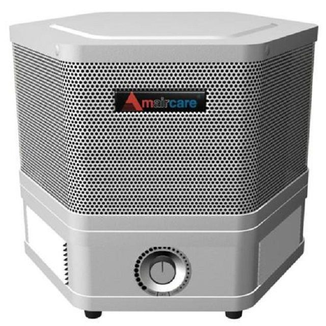Household air purifier with carbon filters