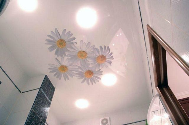 Very nice look film ceilings with photo printing