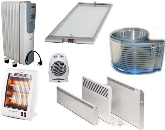 Electric heaters for energy-efficient homes