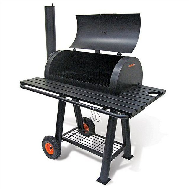 Grilling requires a cover that is open on all sides of the space for food preparation