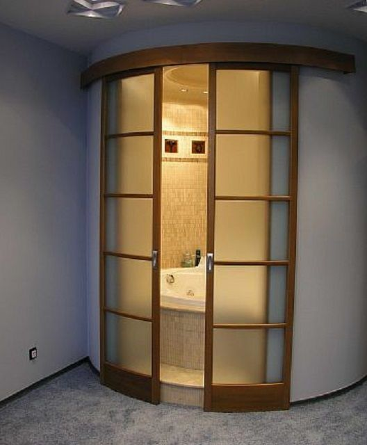 Original sliding door radius design