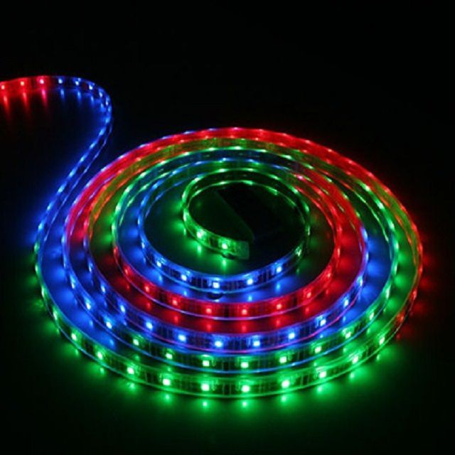 RGB- ribbon, which can shine and white and other shades
