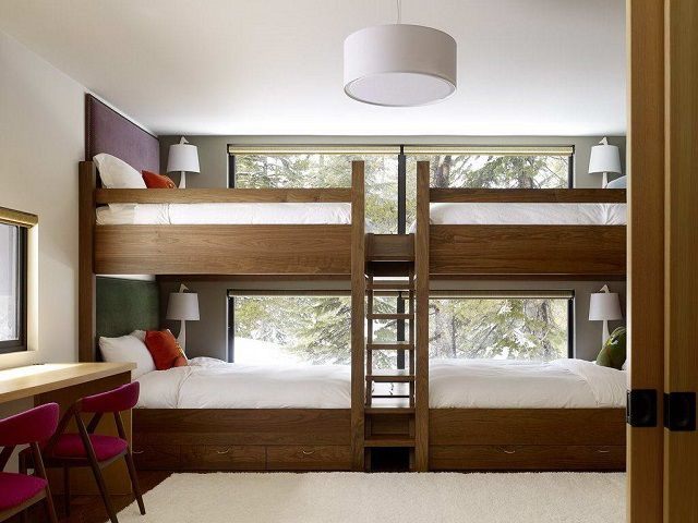 Bunk Bed , designed for a large family