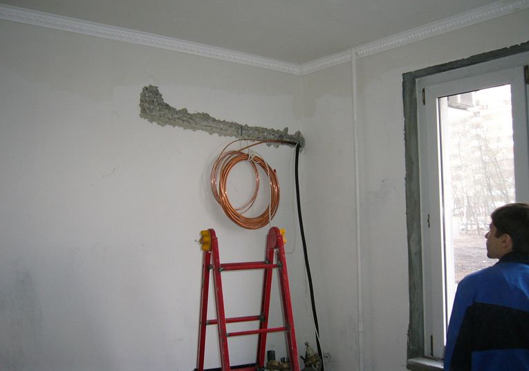 Installation of the indoor unit