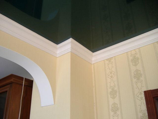 Ceiling moldings for ceilings, views