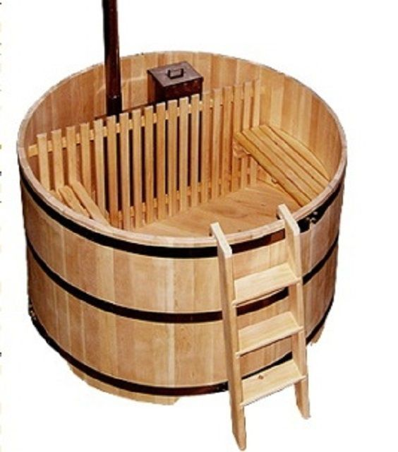 The font in the tradition of Japanese - ofuro bath