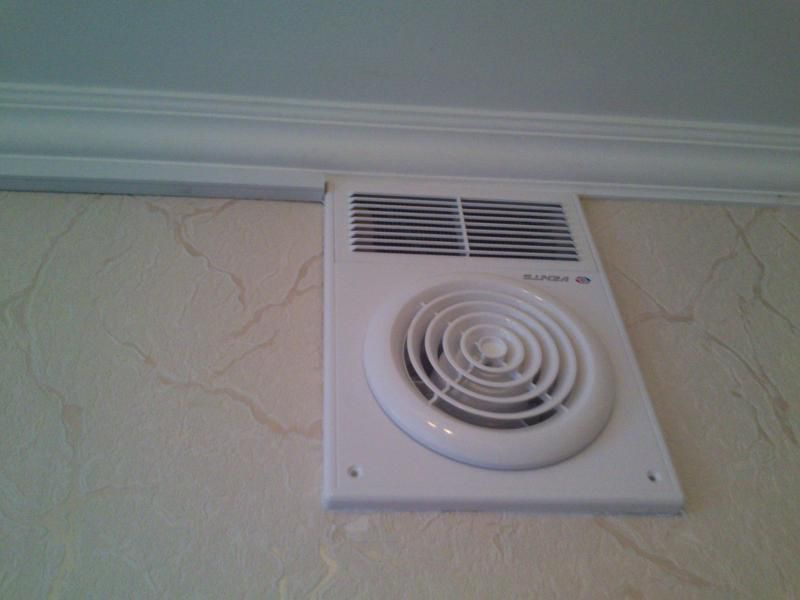 Installing an exhaust fan
