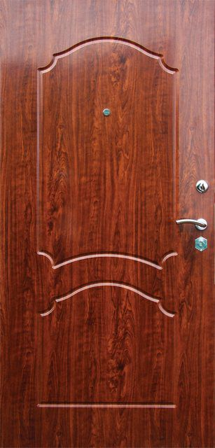 Massive doors can easily be installed at the entrance to an apartment or a house