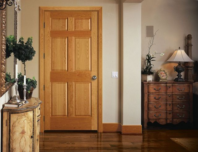 The most common panel doors