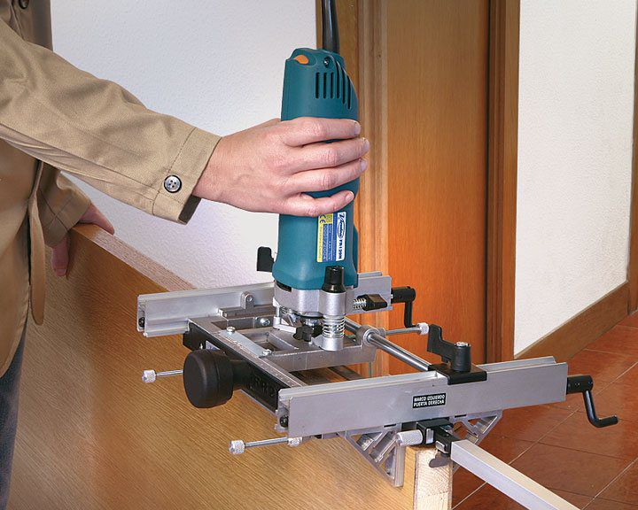 It is difficult to produce high-quality door without a router